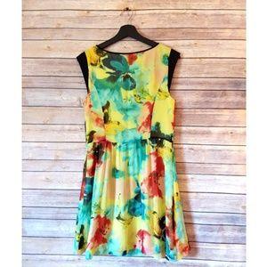 Kensie Watercolor Dress